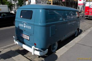 VW T1 Heckansicht